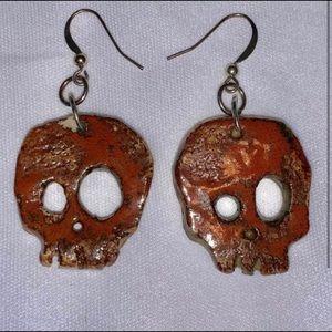 REDUCED‼️Skull earrings